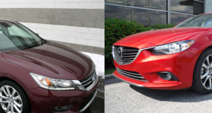 Comparatif Honda Accord 2013 vs Mazda 6 2014