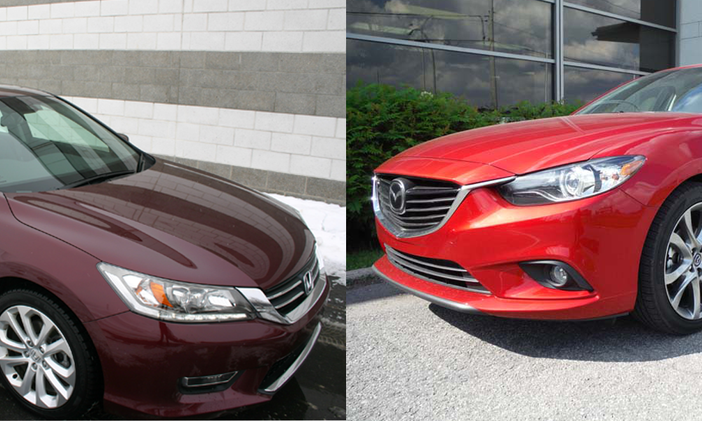 comparatif honda accord 2013 vs mazda 6 2014 le match. Black Bedroom Furniture Sets. Home Design Ideas