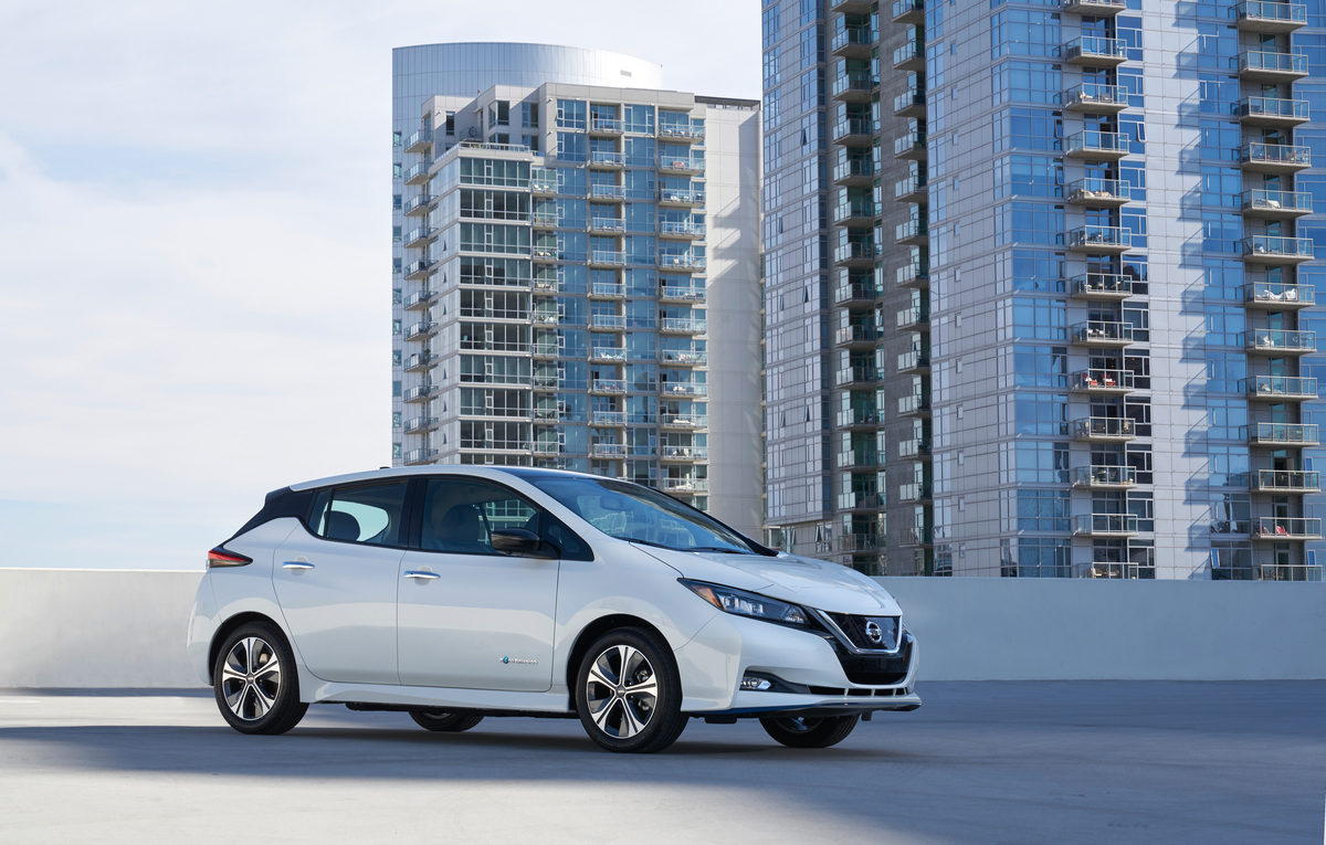 2019 Nissan LEAF PLUS