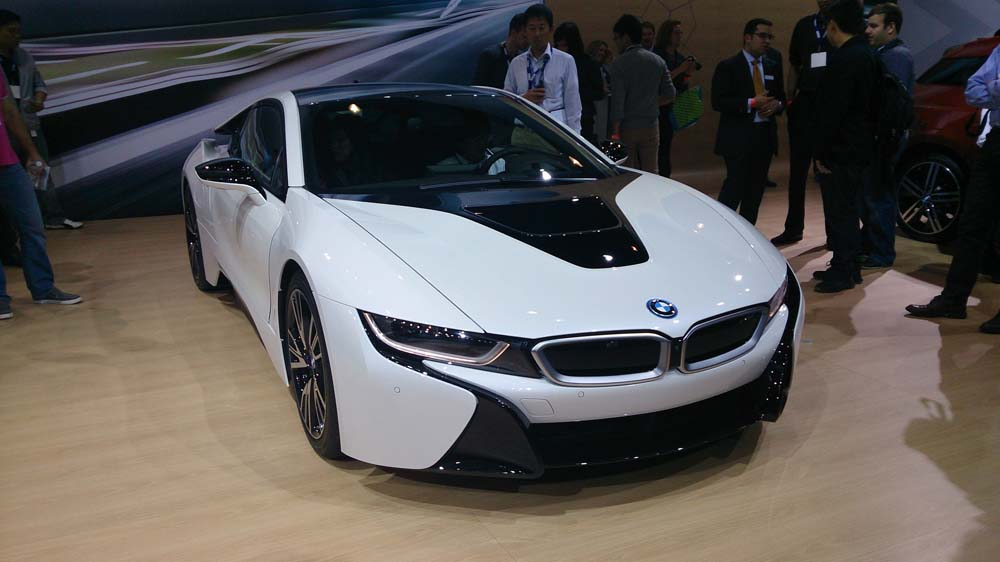 bmw i8 2015 images sp cifications informations ecolo auto. Black Bedroom Furniture Sets. Home Design Ideas