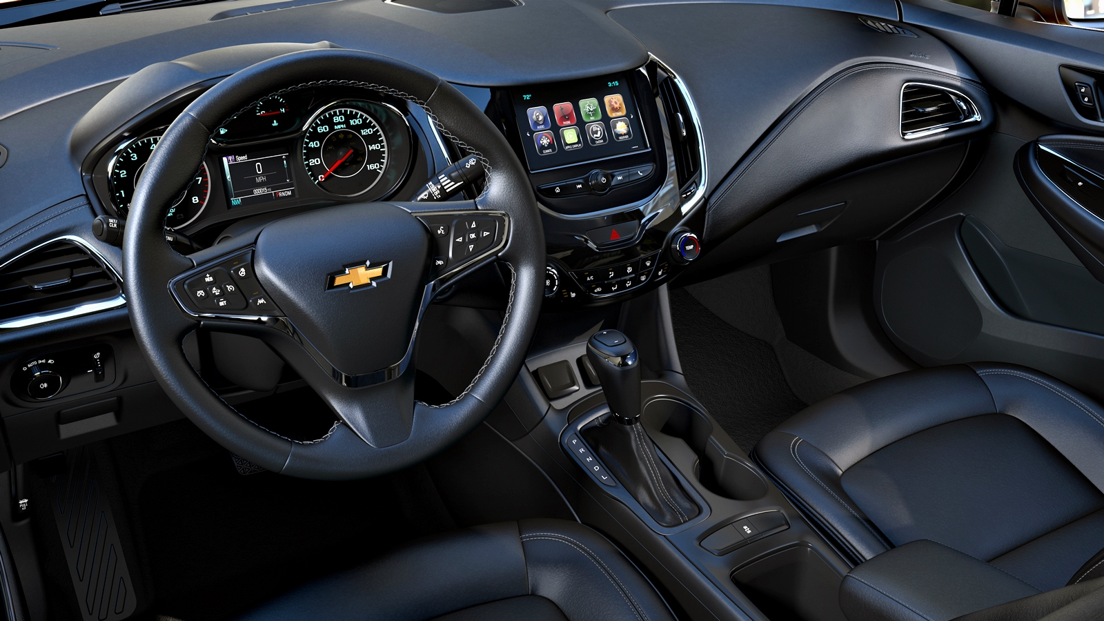 The 2017 Cruze Hatch offers unexpected segment-exclusive technol