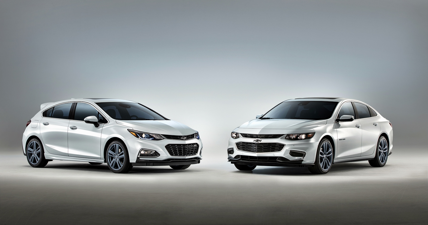 Chevrolet Malibu and cruze blueline