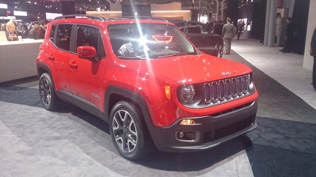 Jeep Renegade 2015 New York
