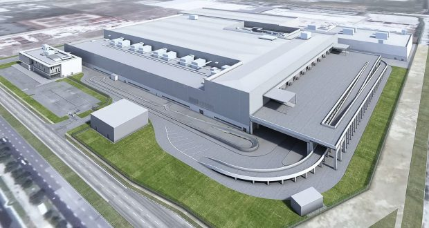 Dyson Automotive facility render