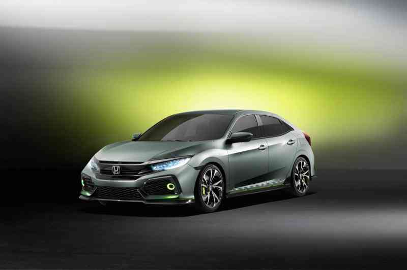 Honda Civic Hatchback Prototype 2016-1