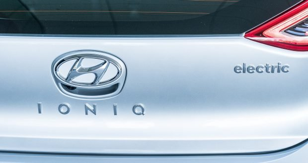 Hyundai IONIQ Electric Vehicle 2019