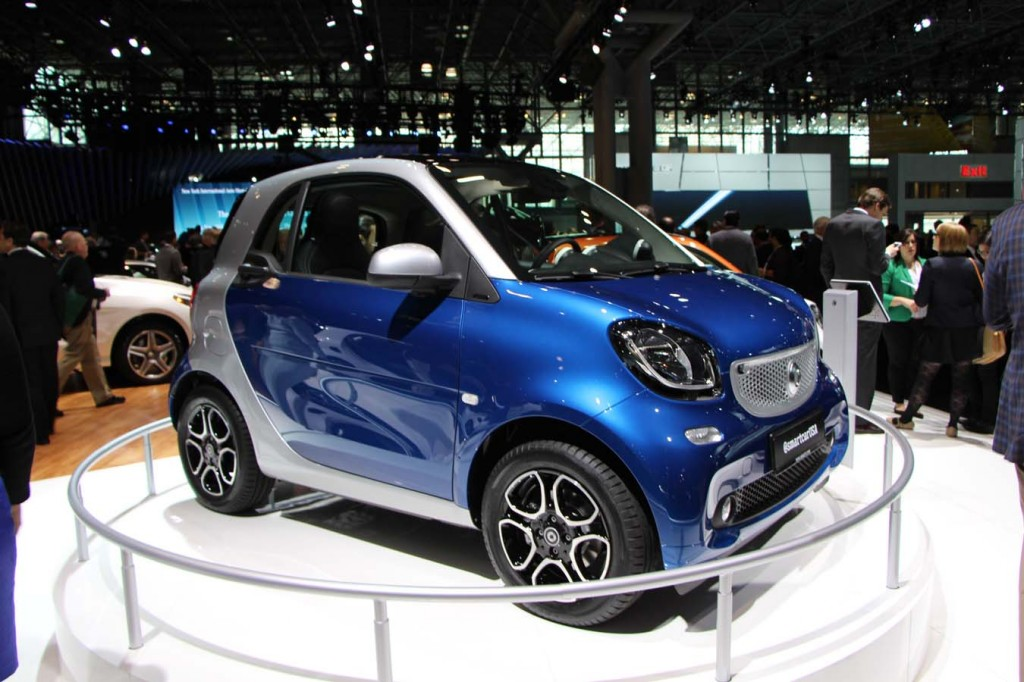 smart ForTwo 2016, New York