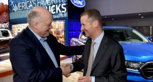 Jim Hackett et Herbert Diess