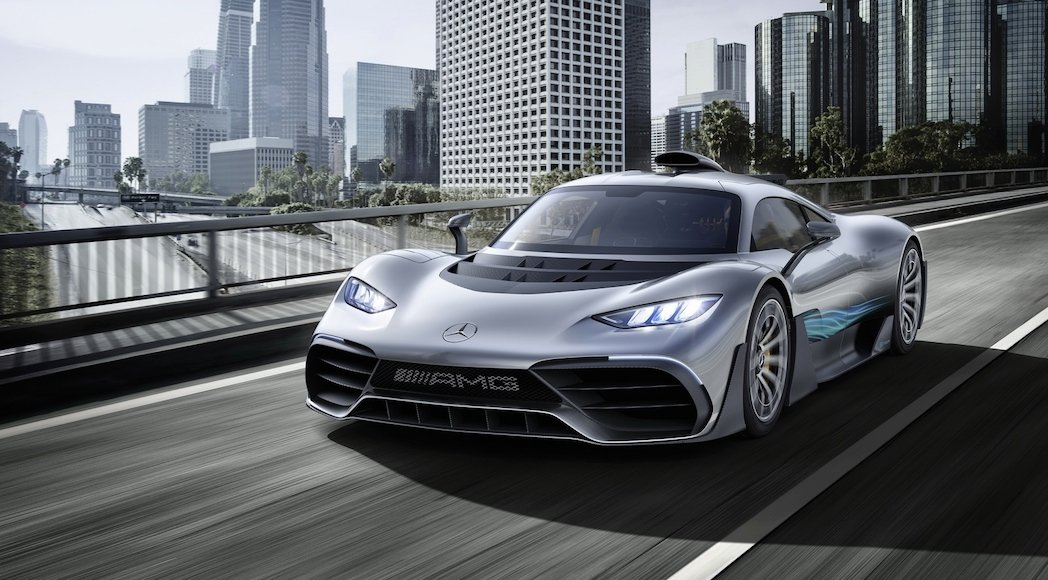 Mercedes AMG Project One Concept