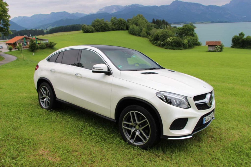 Premier contact mercedes benz gle et gle coup 350d 2016 for Mercedes benz address