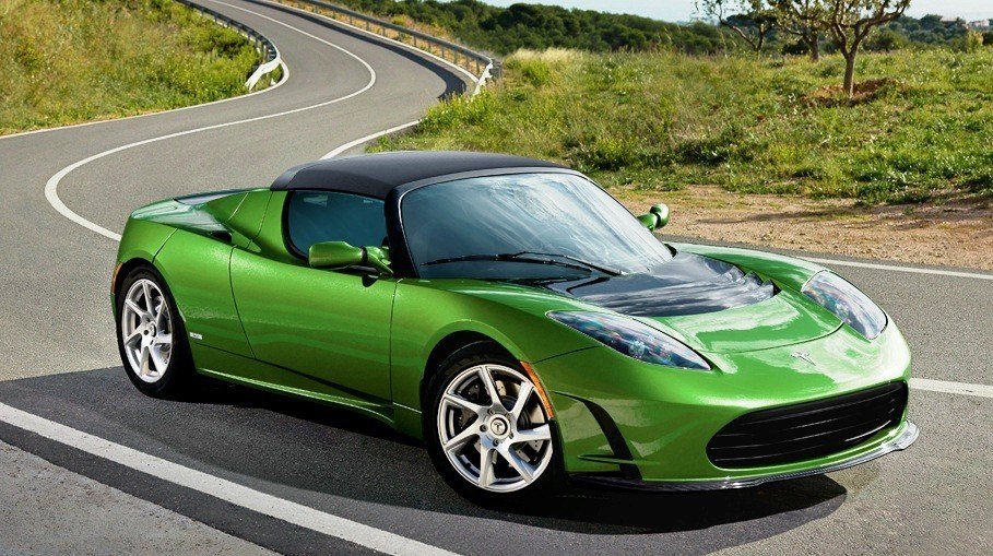 nouvelle auto une tesla roadster tr s tr s rapide. Black Bedroom Furniture Sets. Home Design Ideas