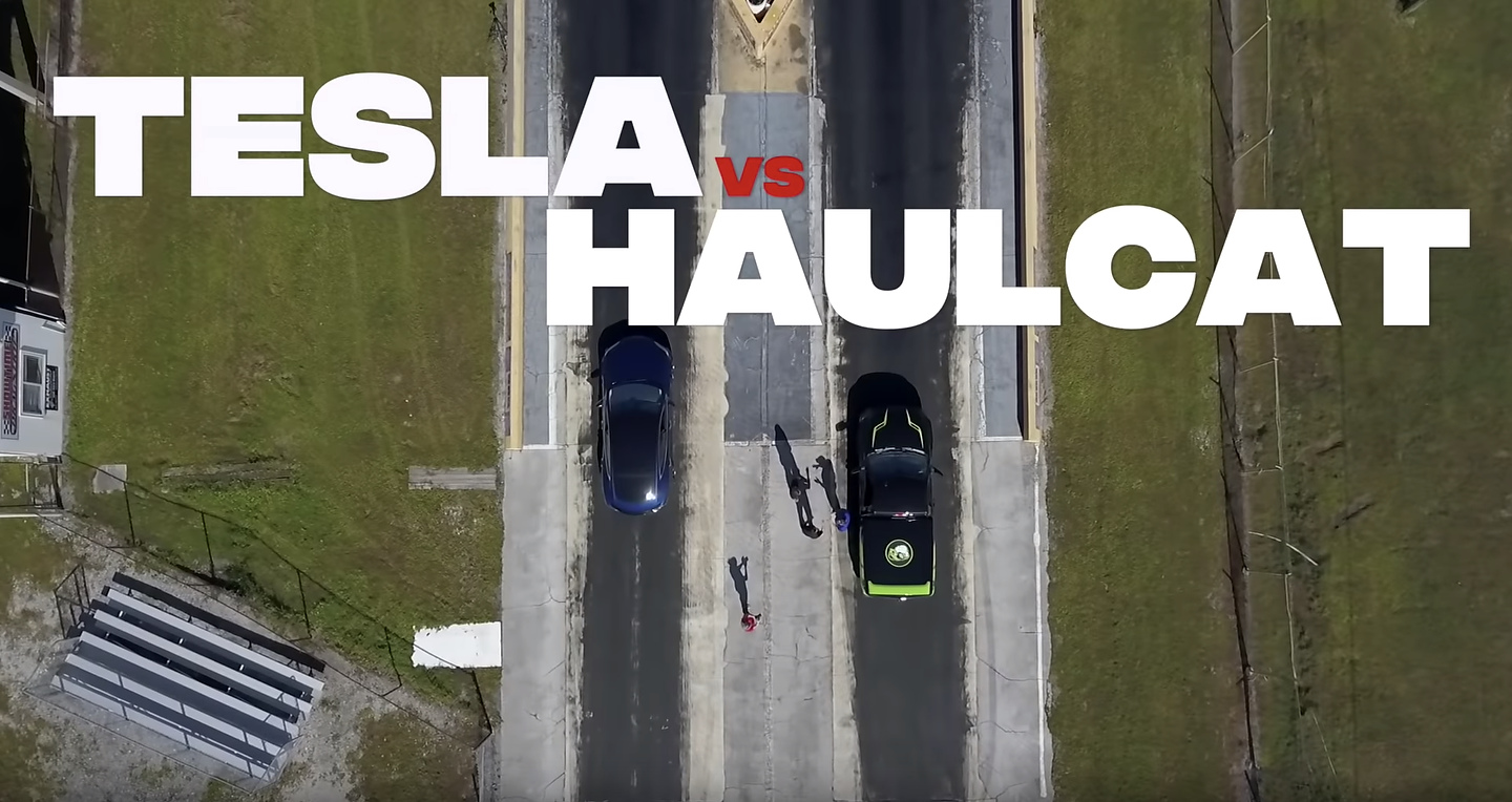 Haulcat Dodge Ram 1500 vs Tesla Model S P100D