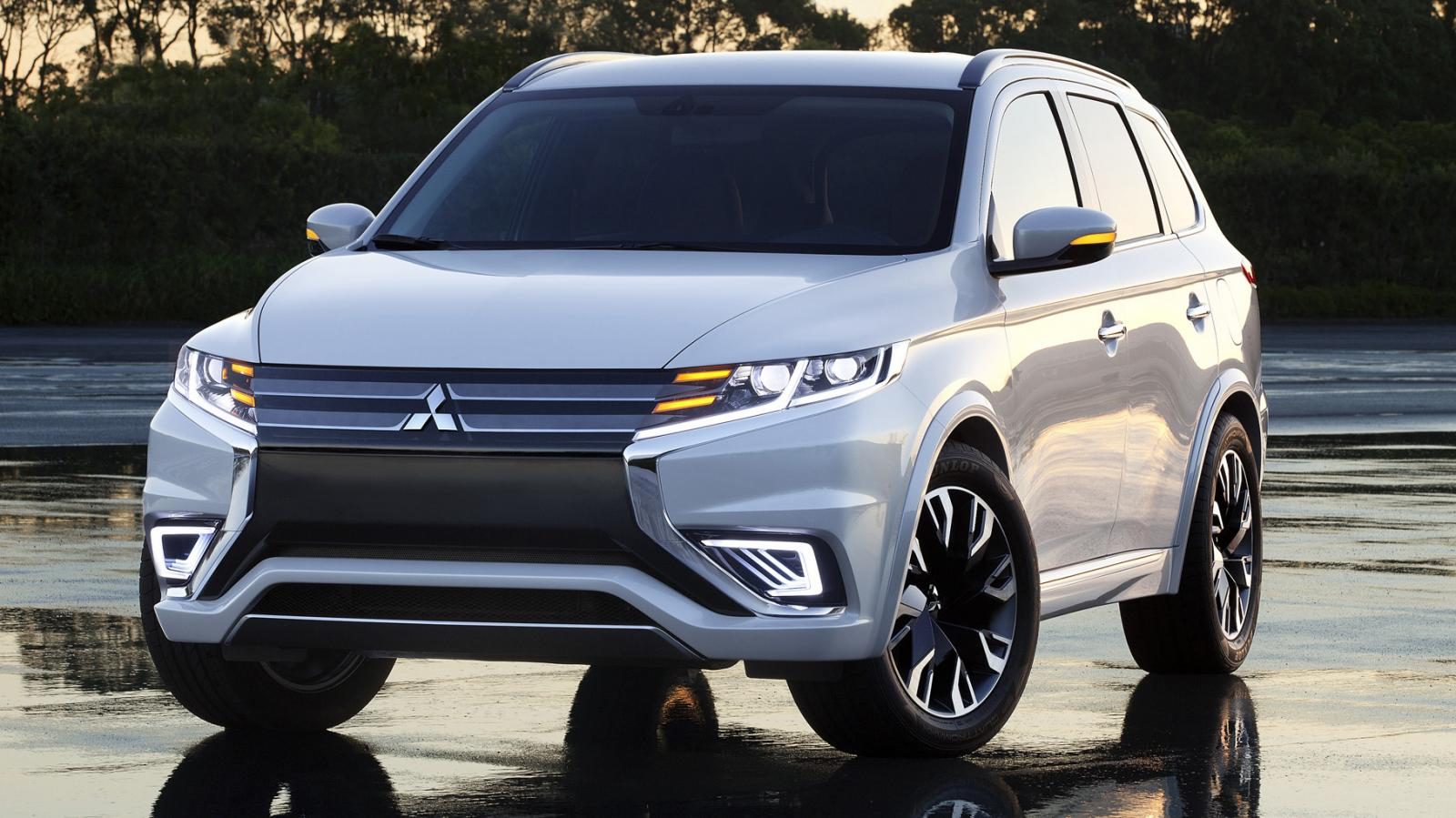 mitsubishi outlander phev concept s pr t pour la production ecolo auto. Black Bedroom Furniture Sets. Home Design Ideas